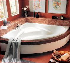 Small Bathtub Size Small Corner Bathtub Home Design Ideas