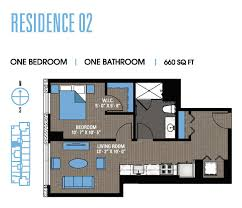 02 floor plan studio to penthouse south loop apartments for rent 1000 south
