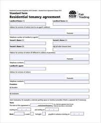 rental agreement form apartment lease agreement template pdf