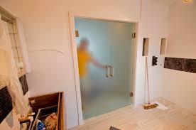 Double Glass Door by Frameless Glazing Door U0026 Solare Double Glazed Pivot Glass Door