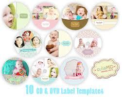 cd dvd label templates happy theme set of 10 photoshop templates