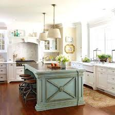 painted kitchen islands painted kitchen island with stained cabinets ideas colored islands