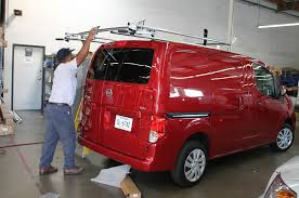 Rack For Nissan Frontier by Nissan Nv200 Adrian Steel Cargo Management Tech Install Truck Trend