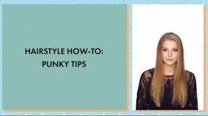punk hair style how to asos hair tutorial youtube