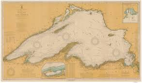 Lake Erie Map New York Historical Nautical Charts