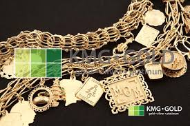 gold chain charm bracelet images What we buy kmg gold recycling the original gold buyer jpg