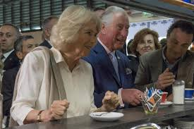 charles and camilla stop for coffee like locals on italy tour