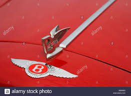 red bentley red bentley emblem classic car show tatton park cheshire england
