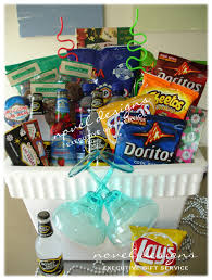 gift baskets for college students cooler snack basket great gift idea for a college student oh