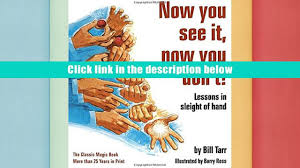 free download now you see it now you don t lessons in sleight
