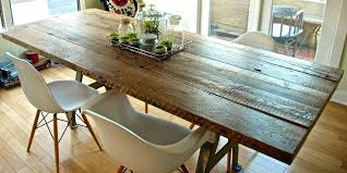 Making A Solid Wood Table Top by Dining Table Handmade In America Custom Dining Tables Solid Wood