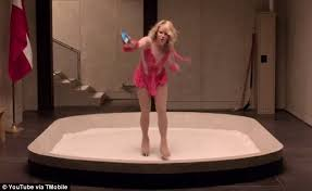 new viagra commercial actress football chelsea handler one ups sarah silverman in super bowl commercial