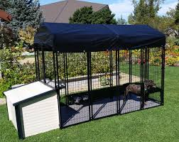 Dog Kennel Flooring Outside by Value Dog Kennel Combo
