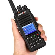 radioddity gd 55 plus uhf 400 480mhz waterproof dmr digital radio