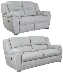 Recliner Sofa Suite Buy Buoyant 3 2 Seater Fabric Recliner Sofa Suite