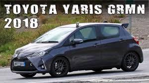 toyota germany all new 2018 toypta yaris grmn 5 door hatch prototype youtube