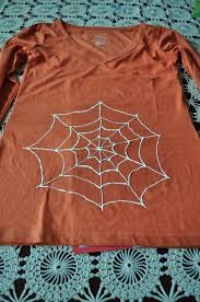craft for kids diy halloween spider t shirts