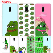 Nokia Phone Memes - hameinuo internet meme smug frog pepe cover phone case for nokia 9 8