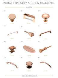 Kitchen Cabinet Drawer Handles 48 Budget Friendly Kitchen Hardware Knobs U0026 Pulls Emily Henderson