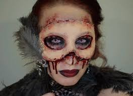 Awesome Scary Halloween Costumes Halloween Coming Terrifying Makeup Ideas