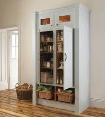 Kitchen Pantries Cabinets Tall Kitchen Pantry Cabinet F White Wooden Tall Narrow Pantry