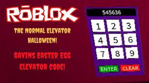 roblox the normal elevator halloween gavin u0027s elevator secret