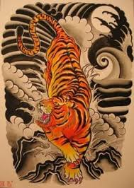 traditional japanese tiger tattoo designs tiger in tattoo design