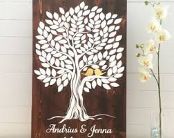 tree signing for wedding wedding pens wood guestbook marker archival pens
