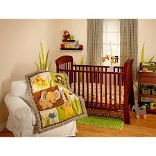 Crib Bedding Jungle Bedding By Nojo Jungle Dreams 3 Crib Bedding Set