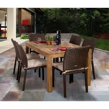 Beachcrest Home Elsmere  Piece Outdoor Dining Set With Cushions - Patio furniture columbus ohio