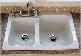 How To Clean White Porcelain Kitchen Sink How To Clean White Porcelain Kitchen Sink Elegantly Daniel De