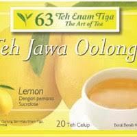 Teh Oolong sell java oolong tea bag lemon from indonesia by teh enam tiga
