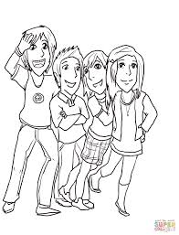 gibby freddie sam and carla coloring page free printable