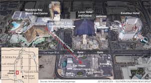 map this is where the las vegas mass shooting happened u2013 orange
