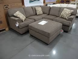 3 Piece Reclining Sectional Sofa by Wonderful Sectional Sofa With Chaise Costco 49 In 45 Degree