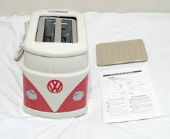 Logo Toaster Volkswagen Minibus Toaster Imprints Vw Logo On Your Toast