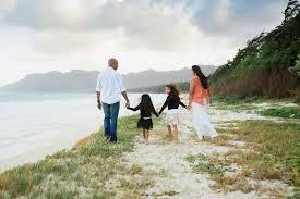 Oahu Photographers P Family At Bellows Beach In Waimanalo Hawaii Oahu Photographer