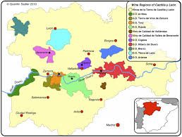A Map Of Spain by Start Exporing Spanish Wines