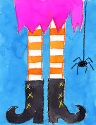 halloween pic art witch u0027s feet halloween decor symmetry art witches and pastels