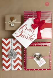 christmas gift wrap gift wrapping chic ideas