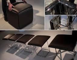transforming space saving furniture resource furniture 5 chairs in one cube resource furniture smart furniture