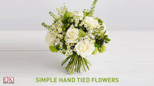 How To Make Floral Arrangements Step By Step Flower Arrangement Tutorial Simple Hand Tied Flowers Youtube