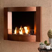 decorating wall mount fireplace with bronze fireplace surrounds ideas