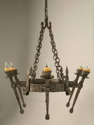 Forged Chandeliers World Forged Iron Chandelier Now In Stock Plank