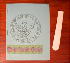 lost coin coloring pages