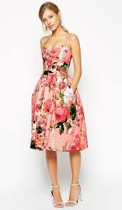 floral dresses best 25 pink floral dress ideas on wedding guest