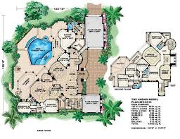 big house floor plans luxury house plans mediterranean home design vasari 11521