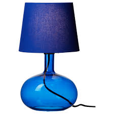 maybe this for the bedroom ljusås uvås table lamp blue ikea