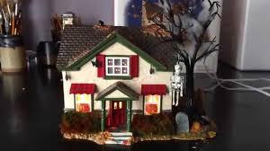 snow village halloween dept 56 hauntsburg house 56 55058 u2013 retired halloween