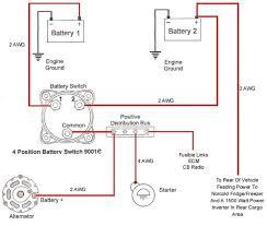 multi battery isolator wiring diagram diagram wiring diagrams